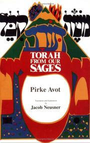 Cover of: Torah from Our Sages: Pirke Avot