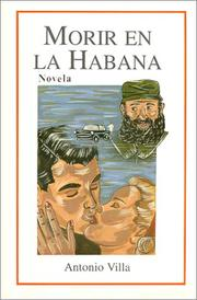 Cover of: Morir en la Habana