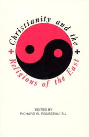 Cover of: Christianity and Religions of the East