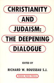 Cover of: Christianity and Judaism