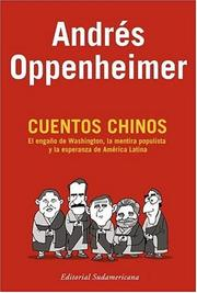 Cover of: Cuentos Chinos