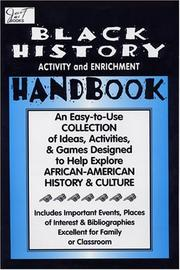 Cover of: Black History Activity and Enrichment Handbook