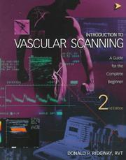 Cover of: Introduction to Vascular Scanning