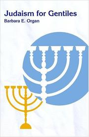 Cover of: Judaism for gentiles