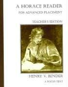 Cover of: A Horace Reader for Advanced Placement