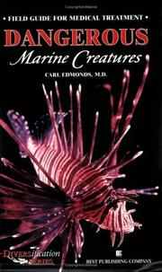 Cover of: Dangerous Marine Creatures