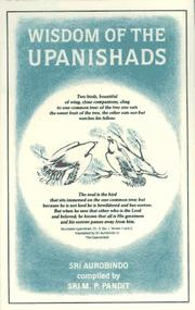 Cover of: Wisdom of the Upanishads (Guidance from Sri Aurobindo) | Aurobindo Ghose