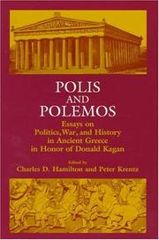 Cover of: Polis and Polemos |