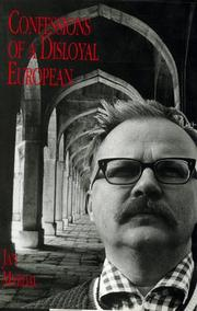 Cover of: Confessions of a disloyal European