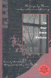 Cover of: In Our Own Voices | Pat Schneider