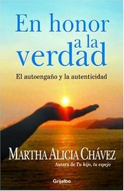 Cover of: En Honor a La Verdad