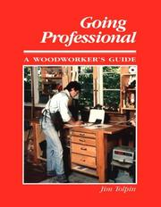 Cover of: Going professional