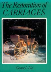 Cover of: Restoration of Carriages