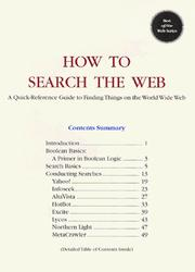 Cover of: How to Search the Web