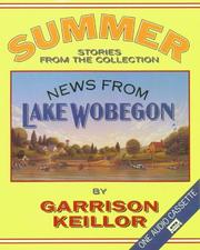 Cover of: News from Lake Wobegon Summer: News From Lake Wobegon