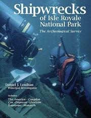 Cover of: Shipwrecks of Isle Royale National Park