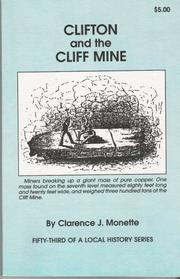 Cover of: Clifton and the Cliff Mine