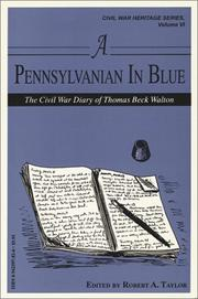 Cover of: A Pennsylvanian in blue