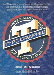 Cover of: International Typographic Design No. 2 | David Brier