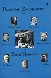 Cover of: Personal encounters | Ralph Hammond