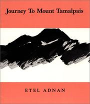 Cover of: Journey to Mount Tamalpais