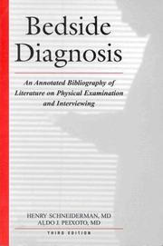 Cover of: Bedside diagnosis