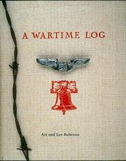 Cover of: A Wartime Log | Art Beltrone