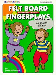Cover of: Felt board fingerplays