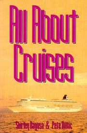 Cover of: All about cruises