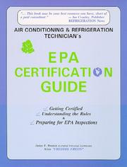 Cover of: Air conditioning & refrigeration technician