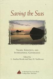Cover of: Saving the Seas |