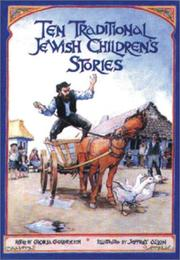 Cover of: Ten traditional Jewish children's stories