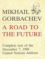Cover of: A road to the future