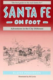 Cover of: Santa Fe on foot