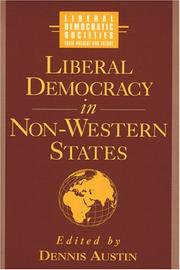 Cover of: Liberal democracy in non-western states |