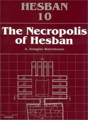 Cover of: Necropolis of Hesban | S. Douglas Waterhouse