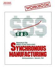 Cover of: Synchronous Manufacturing Workbook