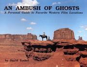 Cover of: An ambush of ghosts