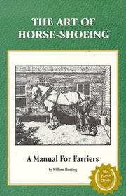 Cover of: The Art of Horseshoeing | William Hunting