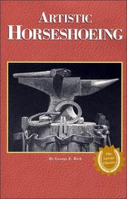 Artistic horse-shoeing by George E. Rich