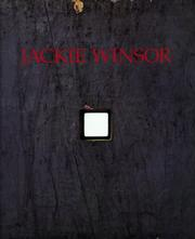Cover of: Jackie Winsor