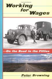 Cover of: Working for wages