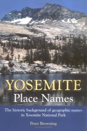 Cover of: Yosemite place names