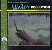 Cover of: Environmental awareness--water pollution | Mary Ellen Snodgrass