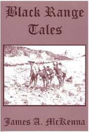 Cover of: Black Range Tales