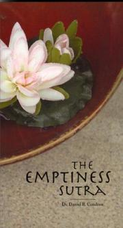 Cover of: The Emptiness Sutra