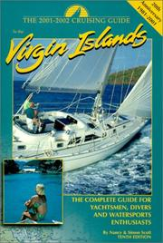 Cover of: 2001-2002 Cruising Guide to the Virgin Islands | Nancy Scott