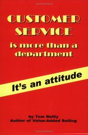 Cover of: Customer Service Is More Than a Department