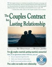 Cover of: The Couples Contract for a Lasting Relationship | Ed Sherman