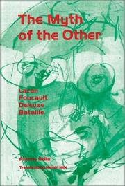 Cover of: The Myth of the Other